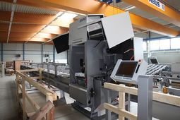 Flexible Panel Rip Saw and Heavy-Duty Cross-Cut System in XL Format for Large Dimensions